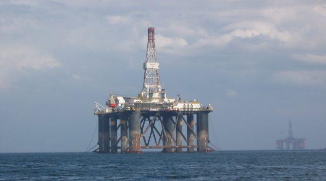 Cromarty Oil Platform